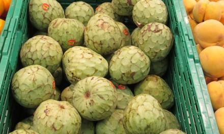 Fruta de temporada: chirimoya. Un placer para los sentidos